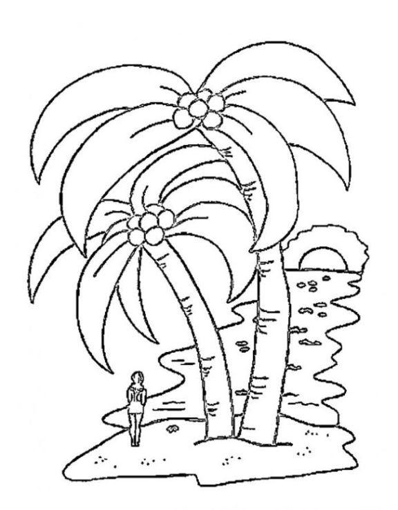vorlage malvorlagen palmen malvorlagen
