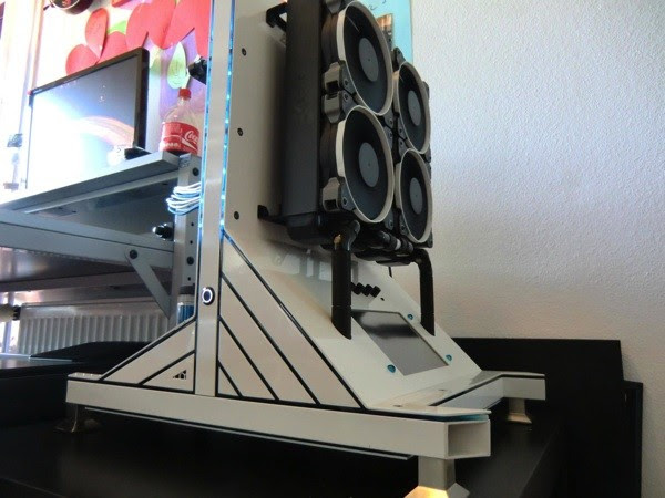Project Inverted turns a gaming PC insideout with handmade casing