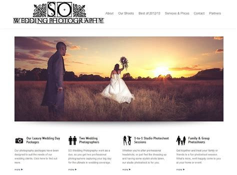 Tips for Building a Better Photography Website ? We Are SO