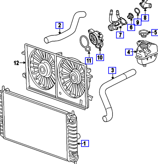31 2000 Chevy Blazer Cooling System Diagram