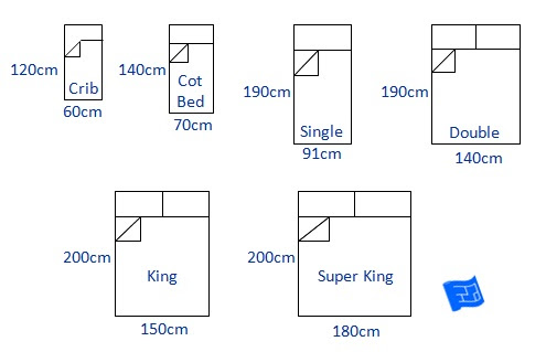King Size Bed Dimensions Mm