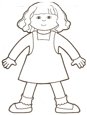 printable coloring pages girl body - photo#6