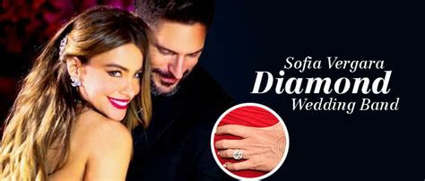 Sofia Vergara diamond wedding band made us go awww