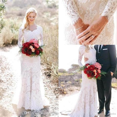Bridal Gown Dresses Mermaid Style Tulle Lace Wedding Dress