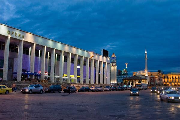 Main Square of Tirana, Albania