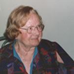 Η Ντενίζ Λεγκρί σε ηλικία 90 ετών, το 2000