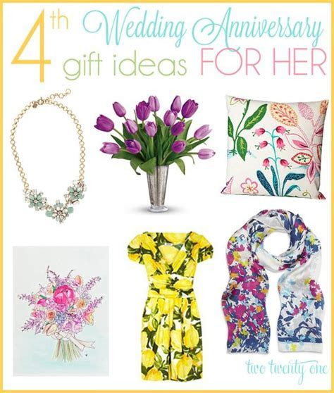 4th Anniversary Gift Ideas   Beautiful, For her and Wedding
