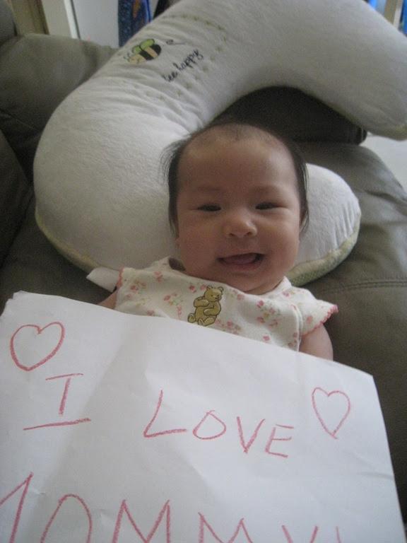 Mothers Day Baby Wong Caleb Wong Caris Wong Chloe Wong