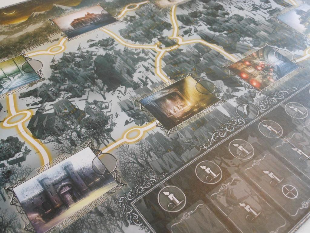 Winter Tales board