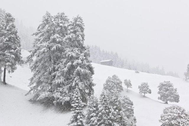 Zum Skifahren reicht es leider noch nicht: Schneelandschaft im Bündnerland. (Archivbild)