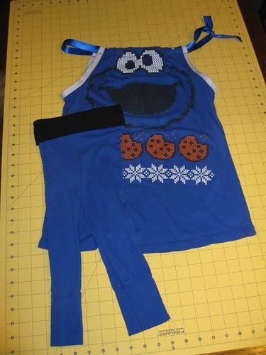 cookie monster outfit