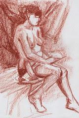 life sketch by dibujandoarte
