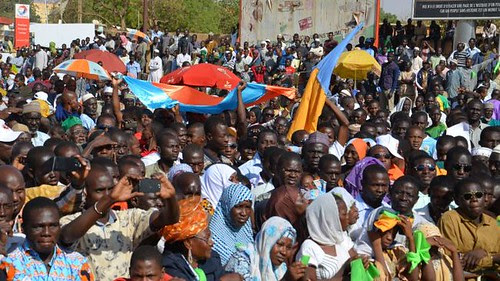 Niger protests on December 28, 2013 against the policies of the neo-colonial regime of Mahamadou Issoufou. The protests called for better wages and living conditions. by Pan-African News Wire File Photos