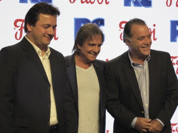 Roberto Carlos lança nova campanha de frigorífico (Foto: Darlan Alvarenga/G1)