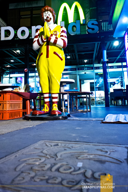 Ronald at Phuket's Patong Beach Road