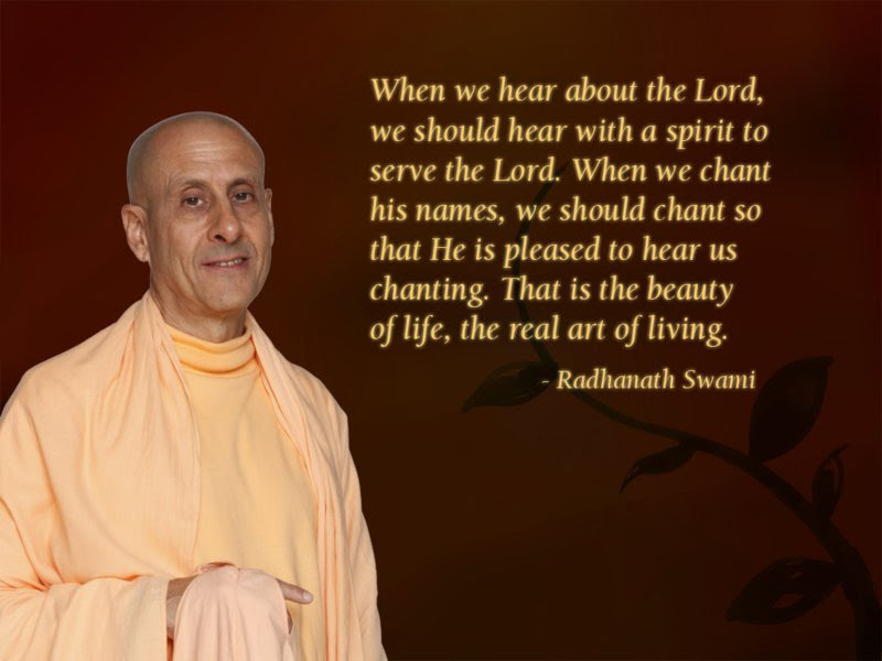 The Real Art Of Living Spiritual Quotes By Iskcon Desire Tree