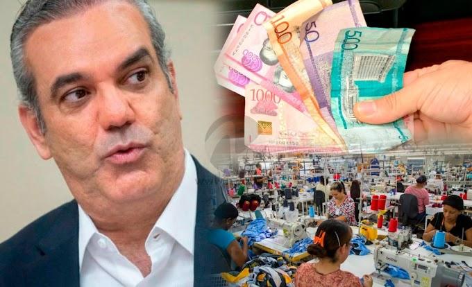 ABINADER PODRÍA ANUNCIAR NOVEDADES SOBRE EL SALARIO DE LOS TRABAJADORES DEL PAÍS