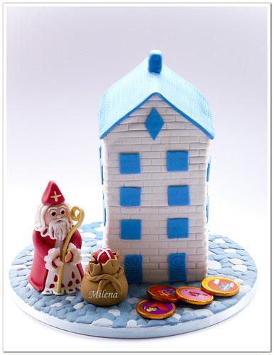 Sinterklaas cake