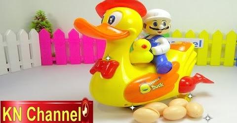 Đồ chơi trẻ em Bé Na Con Vịt biết đẻ trứng, ấp trứng Lay Egg Duck Childrens toys