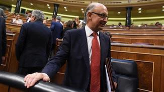 Montoro, en una sessió al Congrés dels Diputats (EFE)
