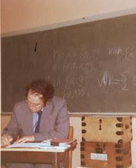 Chris Coley, Lower Sixth classroom