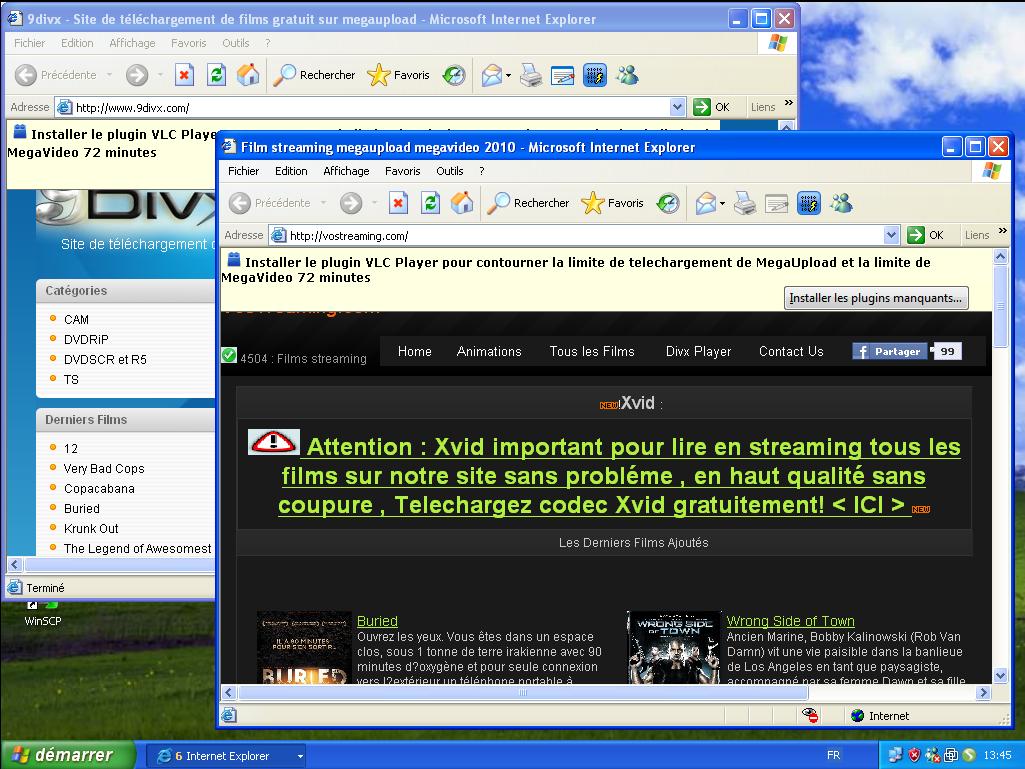 Faux Codecs VLC