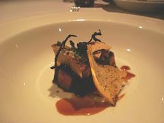 Wagyu Beef w Mushrooms and Foie Gras