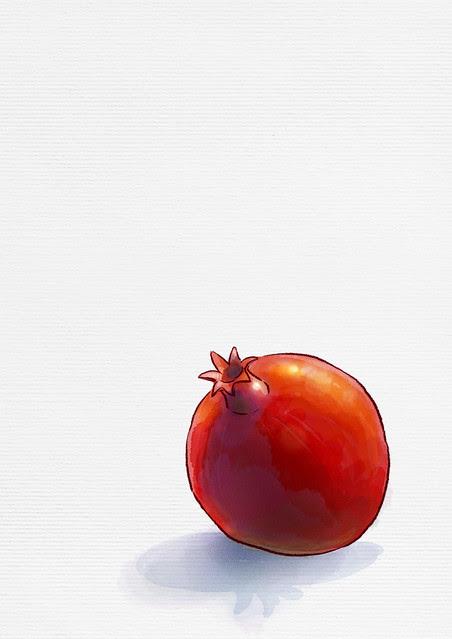 peaceful pomegranate