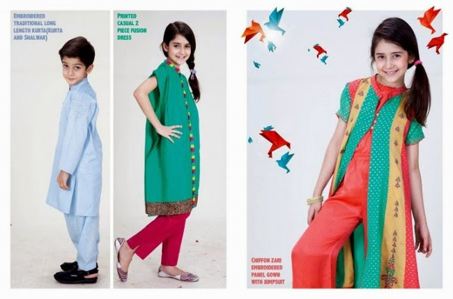 Beautiful-Boys-Girls-Kids-Eid-New-Fashion-Suits-Dress-by-Nishat-Linen-5