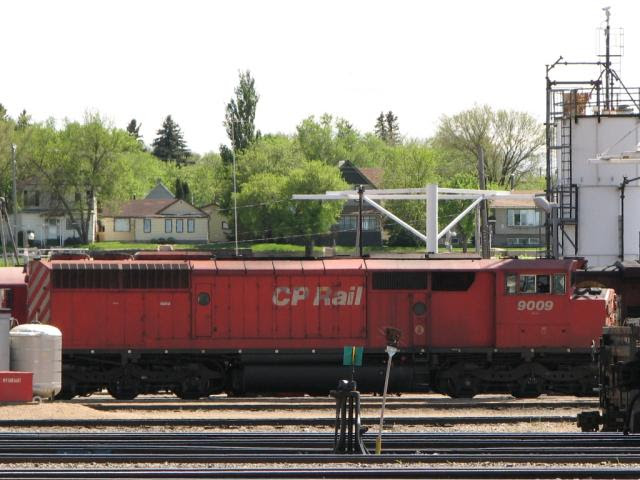 CP 9009 in Moose Jaw, SK