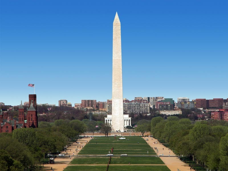 Tourism Bookmark Monuments Of Washington Know About