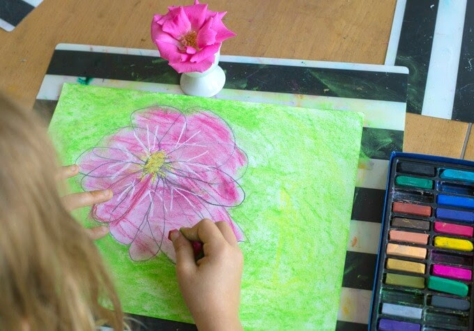 Observationele Drawing for Kids - Drawing Flowers van Life