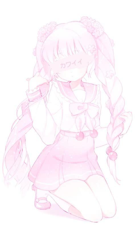 cute kawaii anime wallpaper lolita pink
