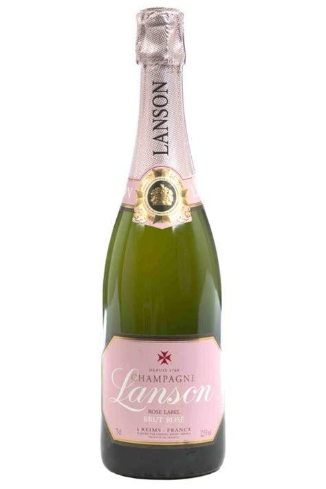 Champagne   Lanson   Brut Rose   Flowers by Flourish