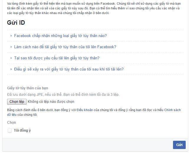 Cách mở tài khoản facebook tên giả