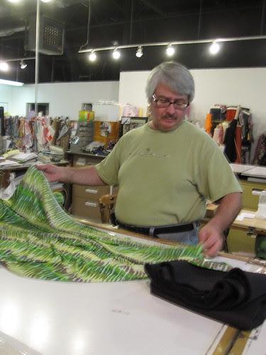 Michael of Michael's Fabrics/A Fabric Place