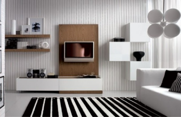 Simple Living Room Wall Decorating Ideas - Beautiful Homes Design