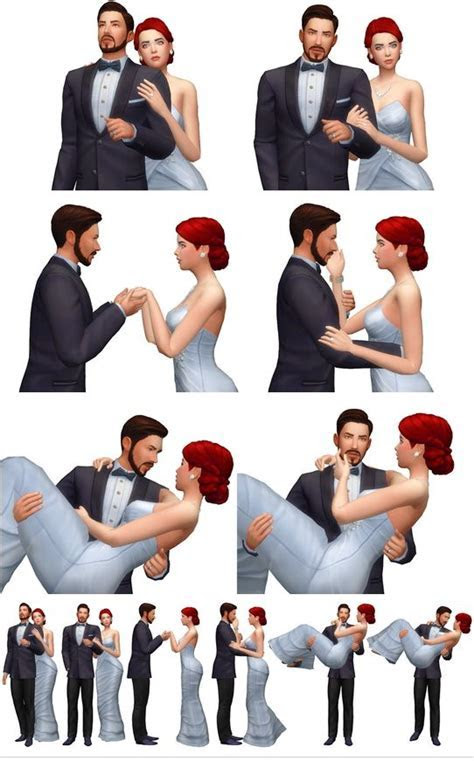 Rinvalee: Couple Poses 09 ? Sims 4 Downloads   Sims 4
