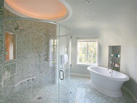 transitional bathrooms hgtv