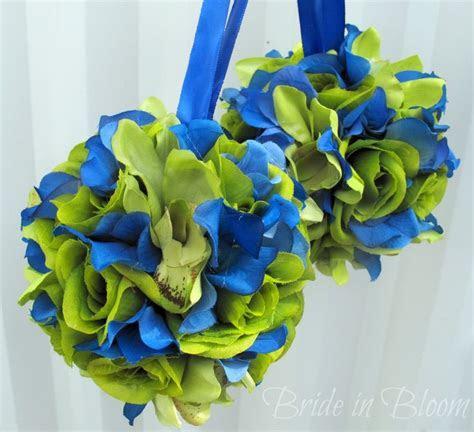 blue and green wedding     balls green royal blue