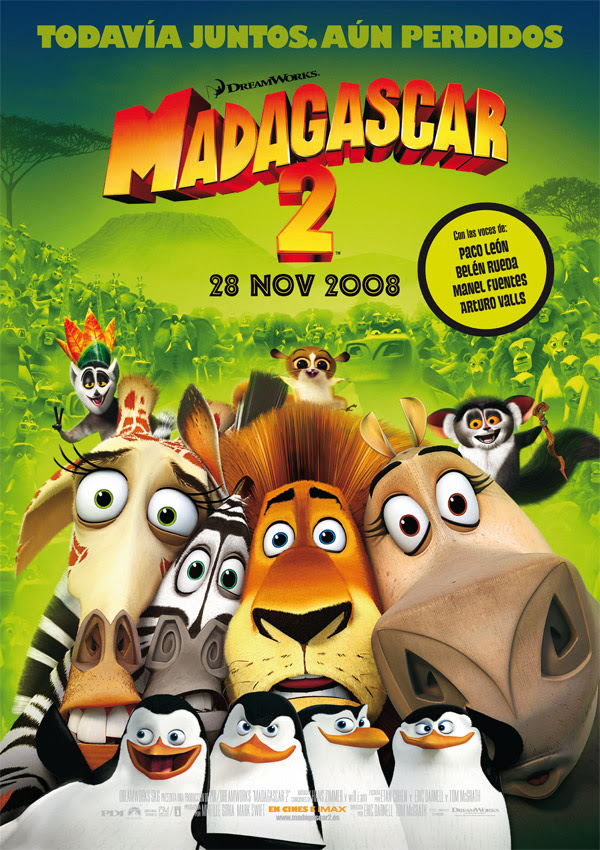 Madagascar 2 (Eric Darnell, Tom McGrath, 2.008)