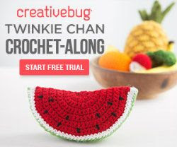 Fruit and vegetable crochet along