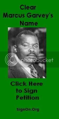 Clear Marcus Garvey Green