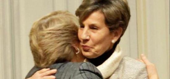 Isabel Allende y Michelle Bachelet
