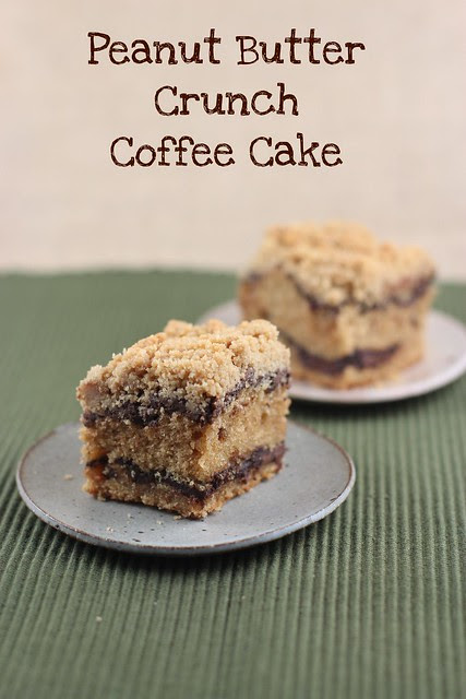 Peanut Butter Crunch Coffee Cake - Piece of Cake Cookbook