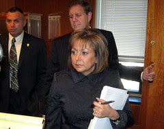 Gov. Susana Martinez & Chief of Staff Keith Gardner