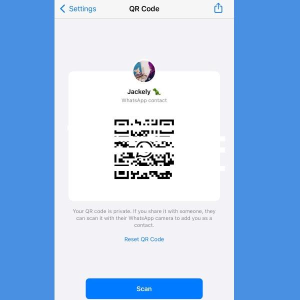 como funciona el codigo qr de whatsapp
