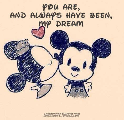 Love Relationship Couple Cute Quote Disney Quotes Frase Dream Mickey