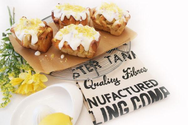Sweet dough lemon loaf | twiggstudios.com