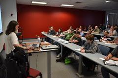 Erin Stellato Presenting at SQL Saturday 119
